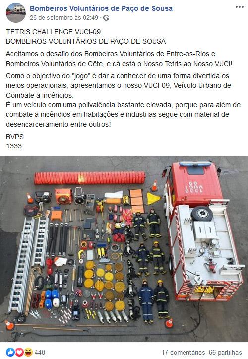 Bombeiros Voluntários de Paços de Sousa